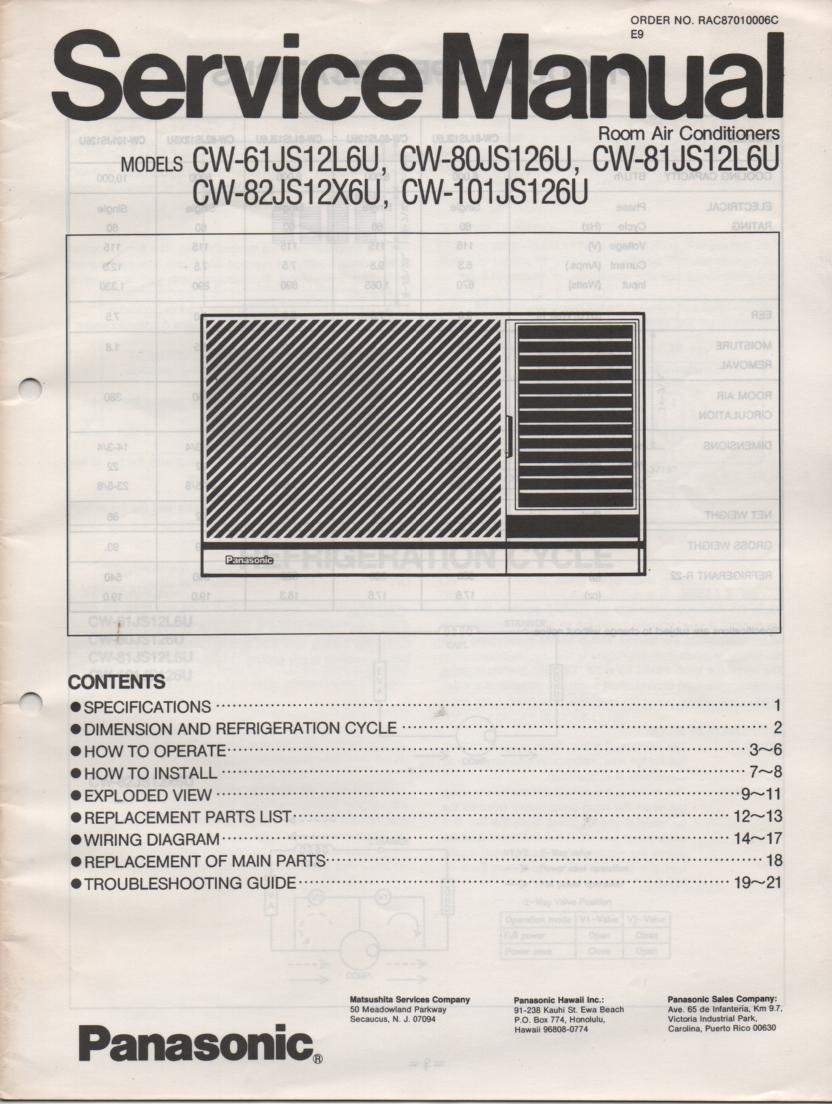 manual for kross air conditioner