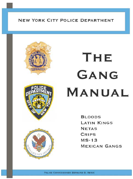 manual for police in the state of new york