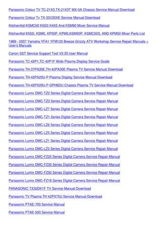 manual panasonic lumix dmc-lz5