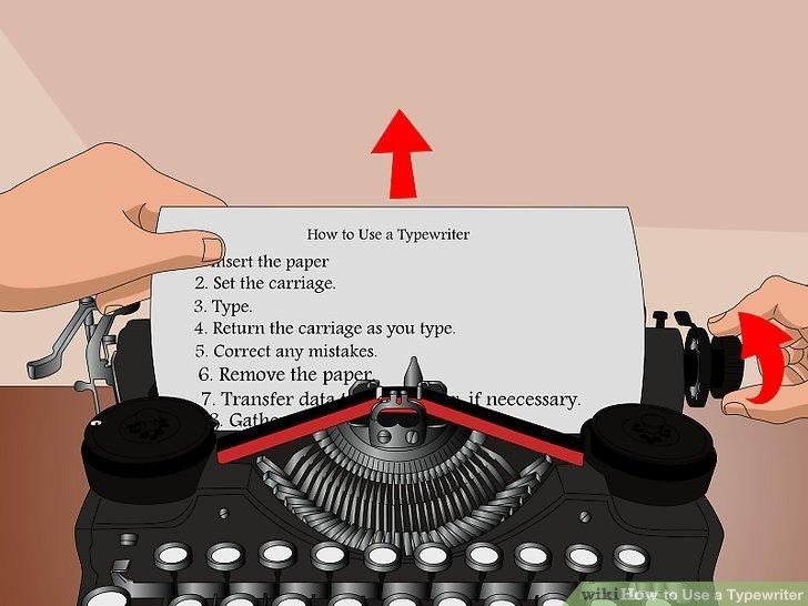 manual typewriter space key fix