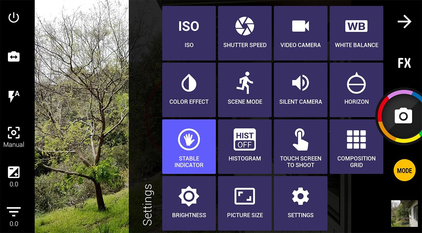 manual video camera app android