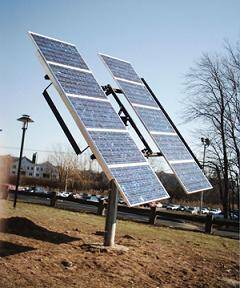 manually adjustable solar mounting system