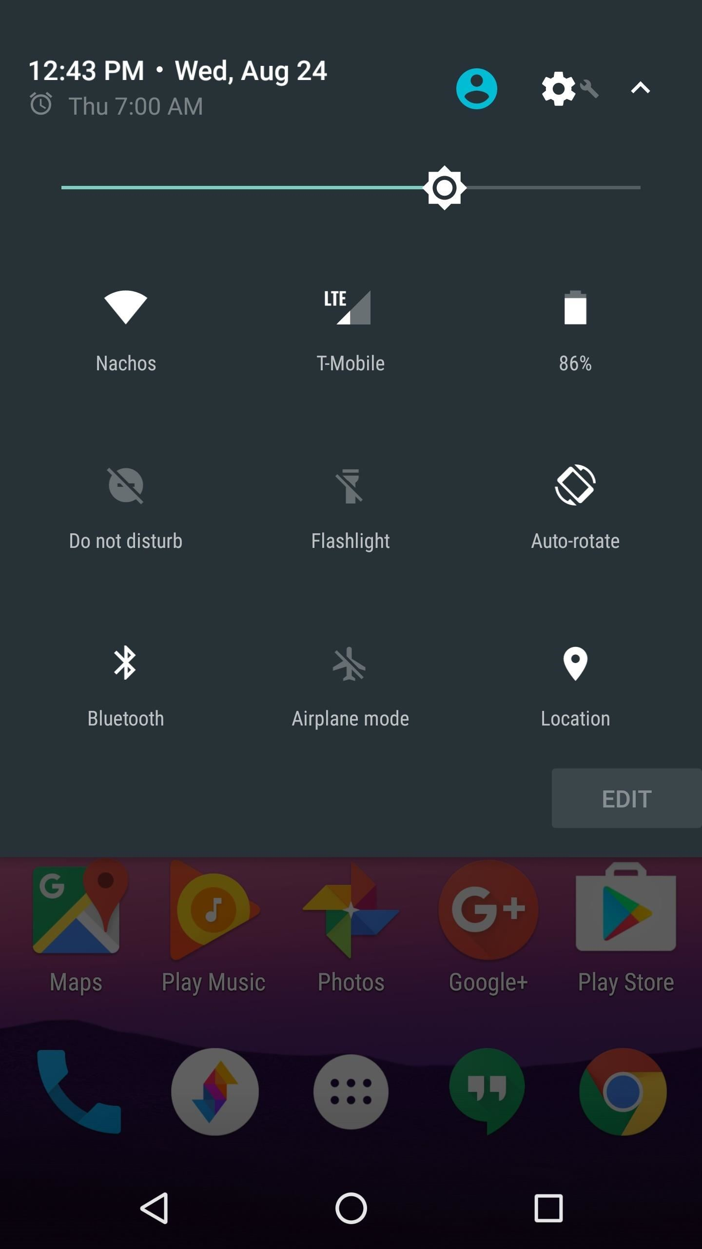 manually set wifi frequency android 7 nougat