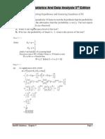 mathematical statistics solution manual pdf