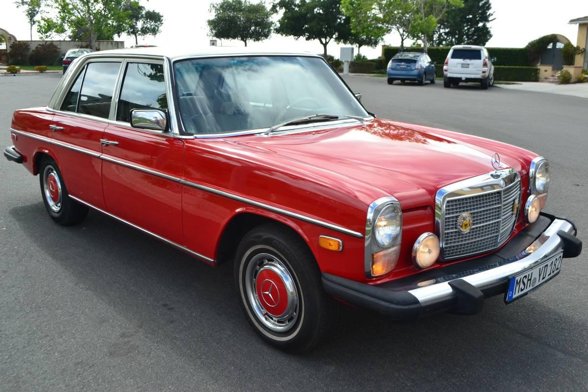 mercedes-benz 300d 1976 manual