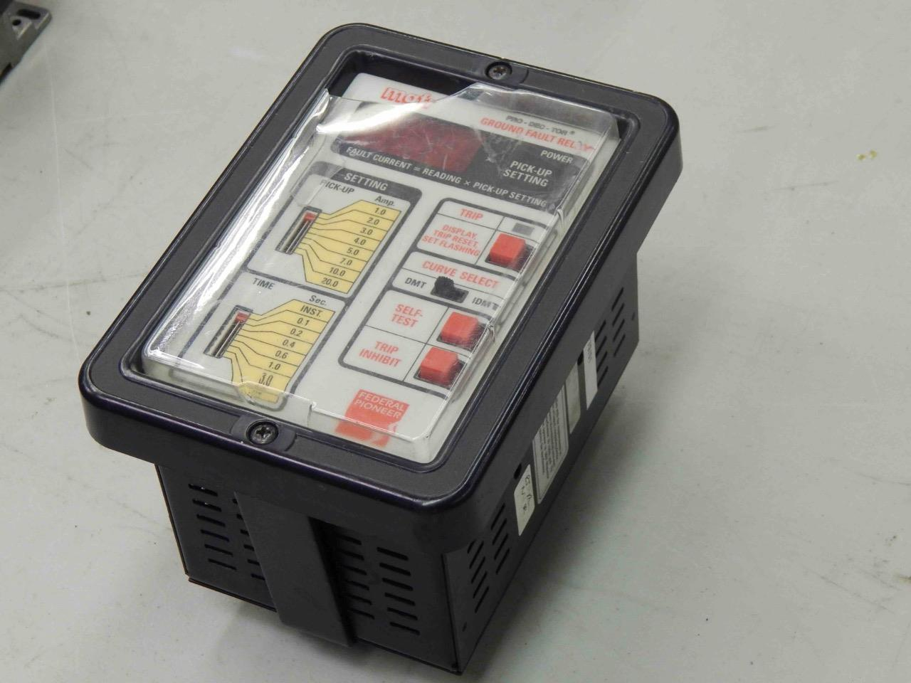 mgfr ground fault relay manual