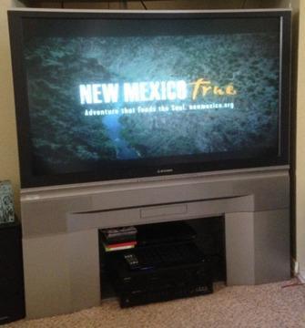 mitsubishi 73 inch tv manual