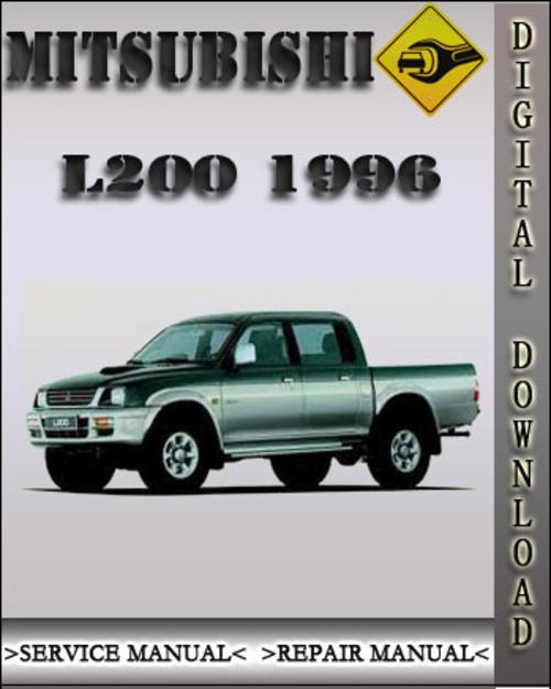 mitsubishi colt 1996 service manual