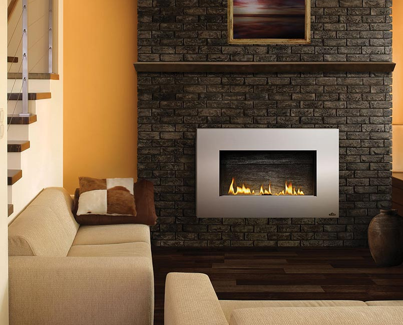 napoleon gas fireplace installation manual