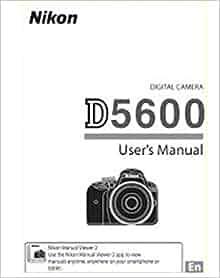 nikon d5600 user manual download