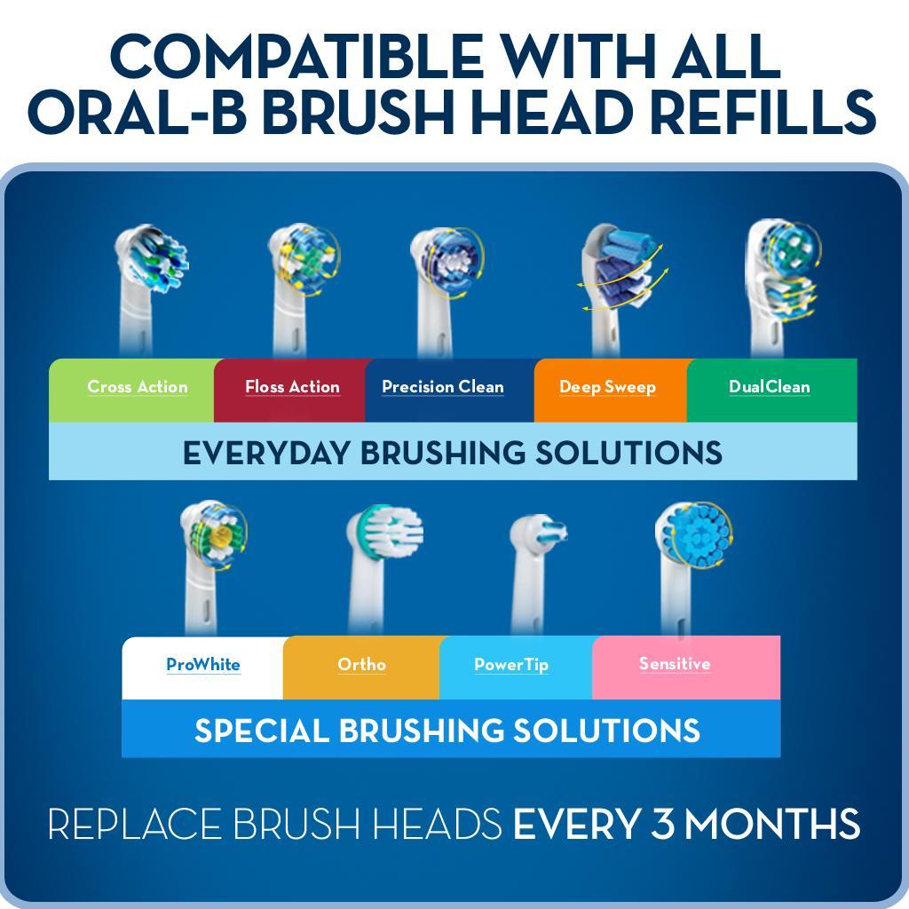 oral-b pro 5000 power toothbrush smartseries manual