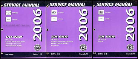 owner manual chevy express 2500 2005