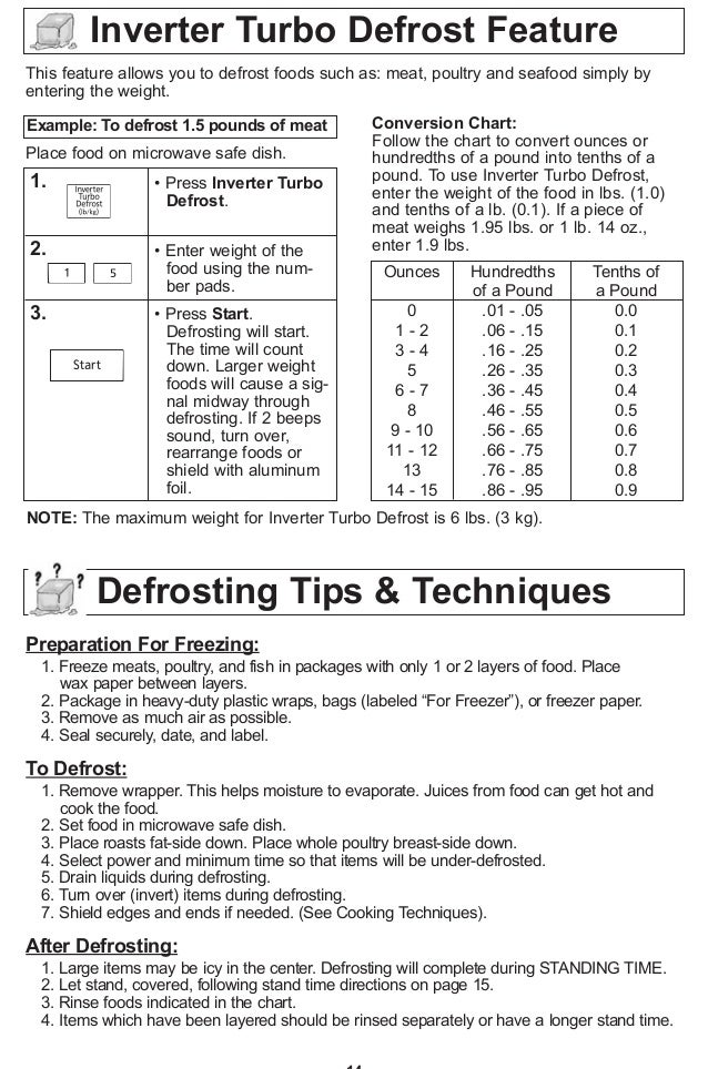 panasonic sensor reheat say read manual