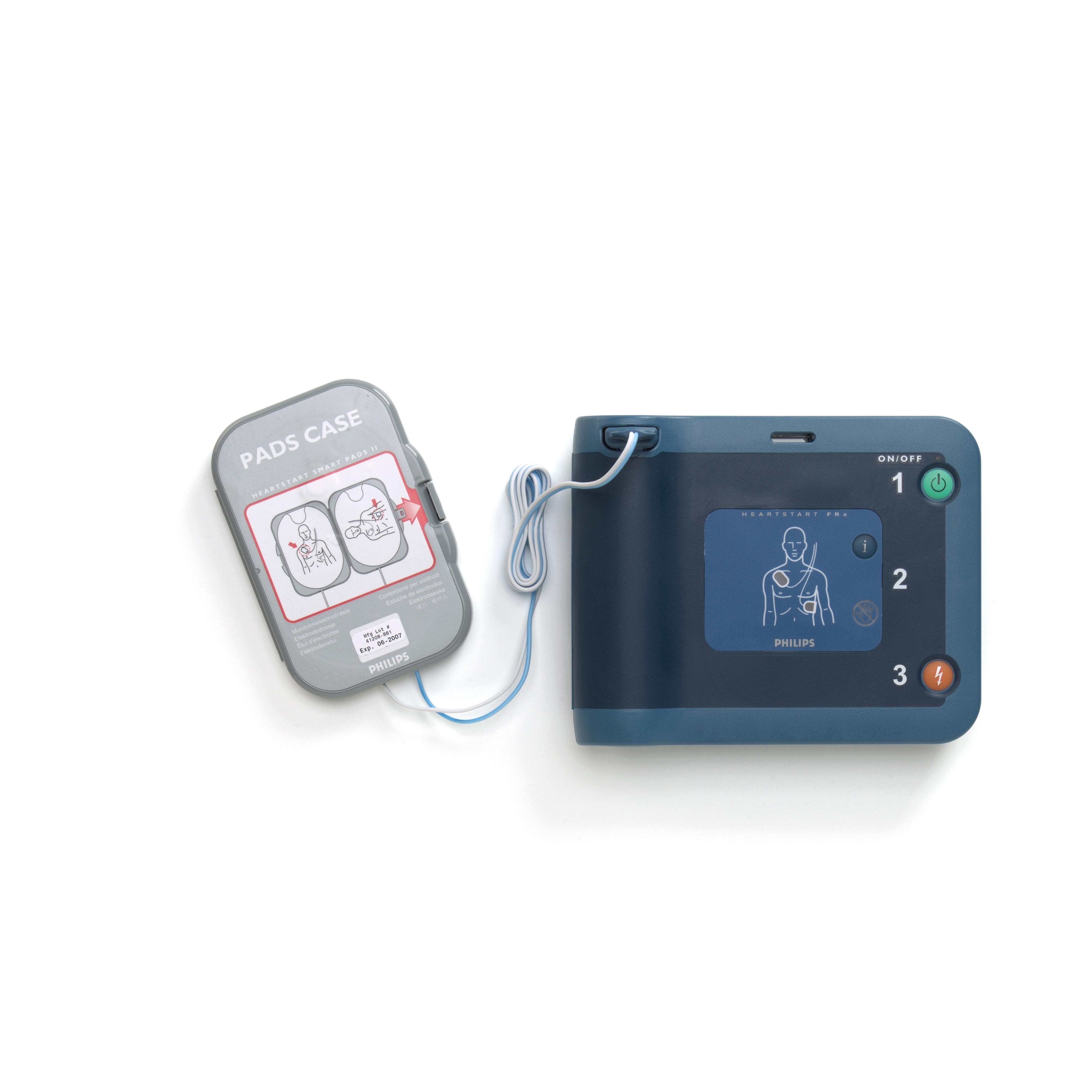 philips heartstart frx aed defibrillator manual