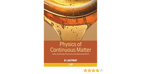 physics of continuous matter lautrup solution manual