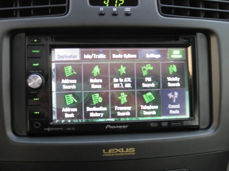 pioneer touch screen radio with navigation manual