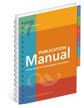 publication manual of apa spiral edition 6th online