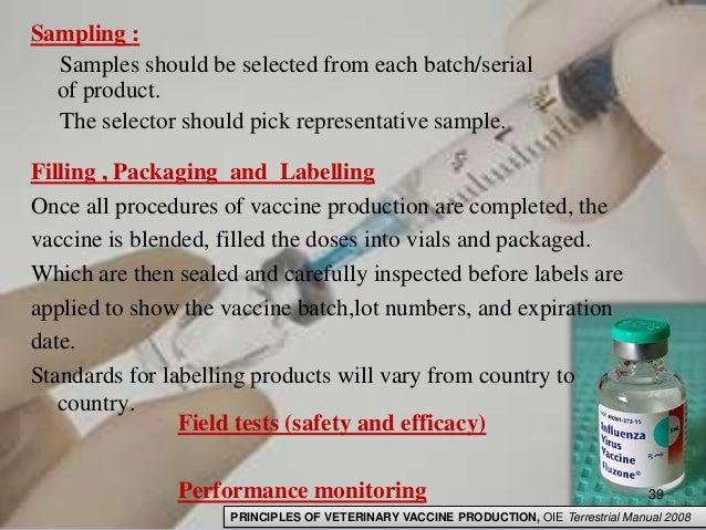 representative sampling of manually filled batch of capsules
