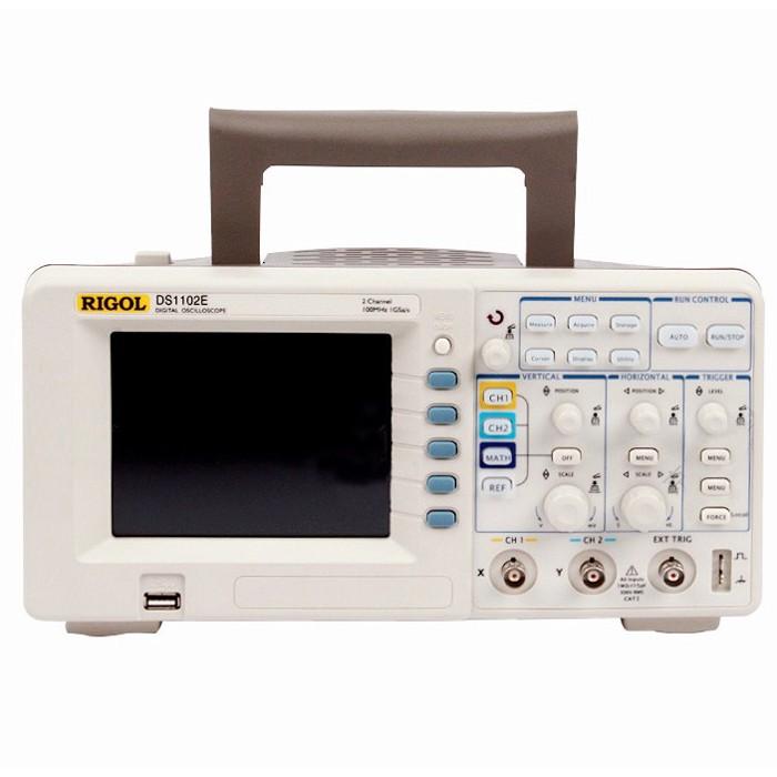 rigol ds1102e 100mhz digital oscilloscope manual