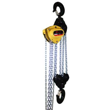 roughneck manual chain hoist 1 ton 20ft lift