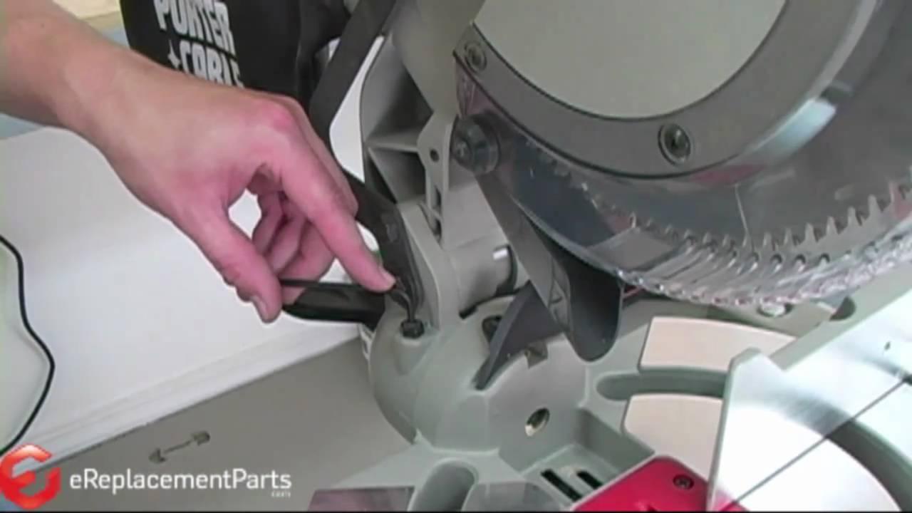 ryobi mitre saw laser guide manual