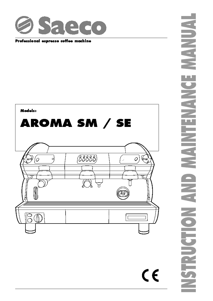 saeco aroma se 200 service manual
