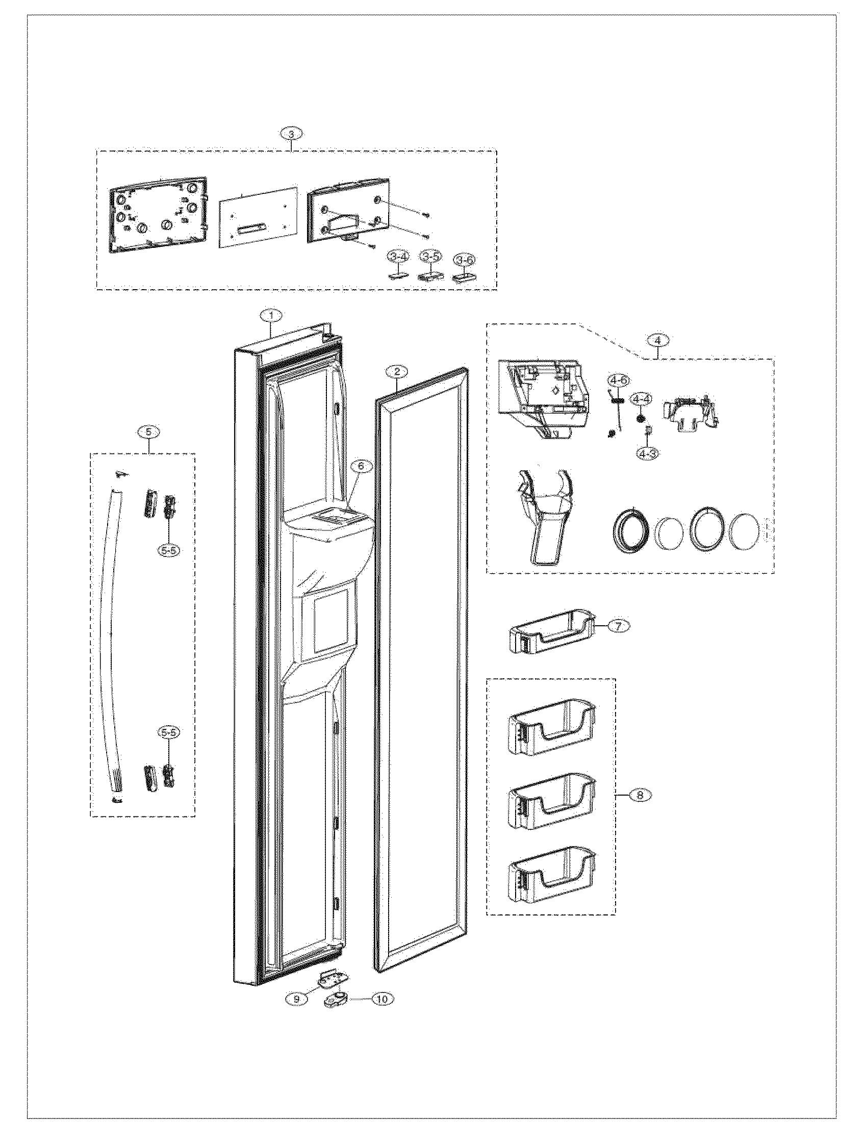 samsung refrigerator repair manual rs261mdbp