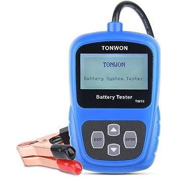 schumacher digital battery tester manual