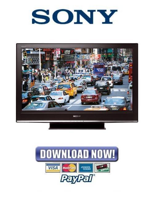 sony kdl-40s3000 manual pdf