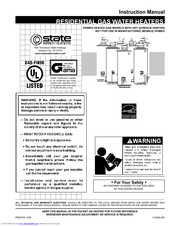 state water heater repair manual