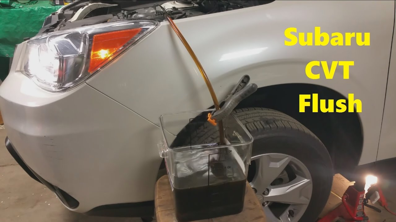 subaru forester manual transmission fluid check