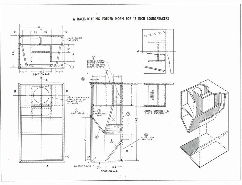 tannoy cabinet consruction technical manuals