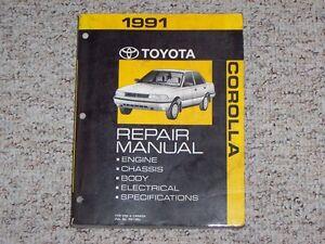 tercel 98 free repair manual