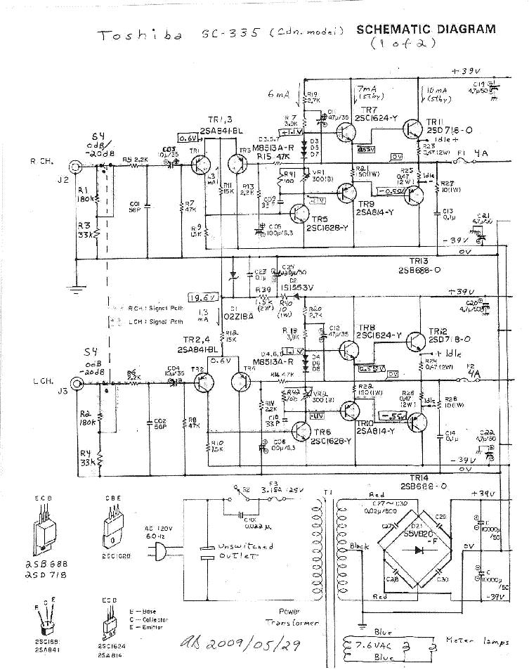 toshiba aurex sr-d350 manual