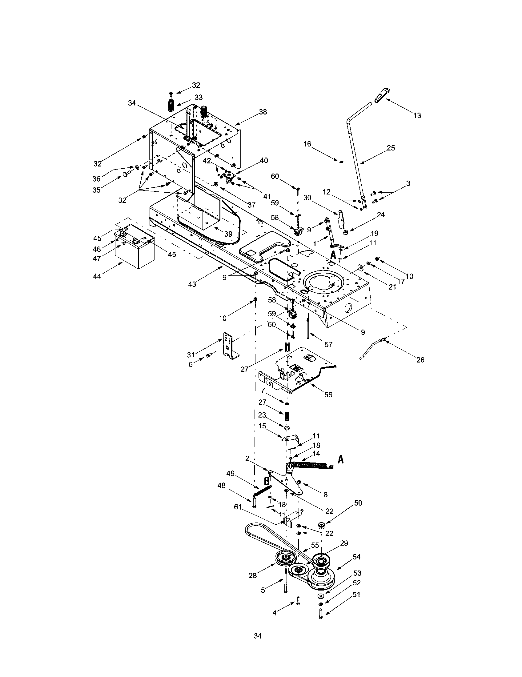 troy bilt 13aj609g766 parts manual