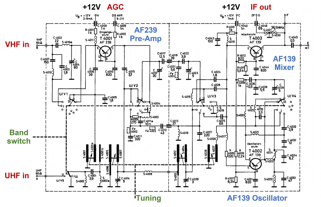 tv circuit diagram service manual