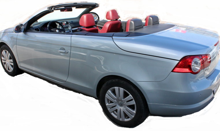used vw eos convertible manual