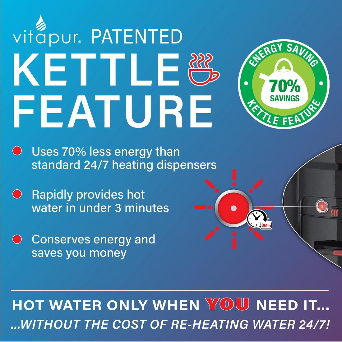 vitapur water dispenser vwd9506bls manual