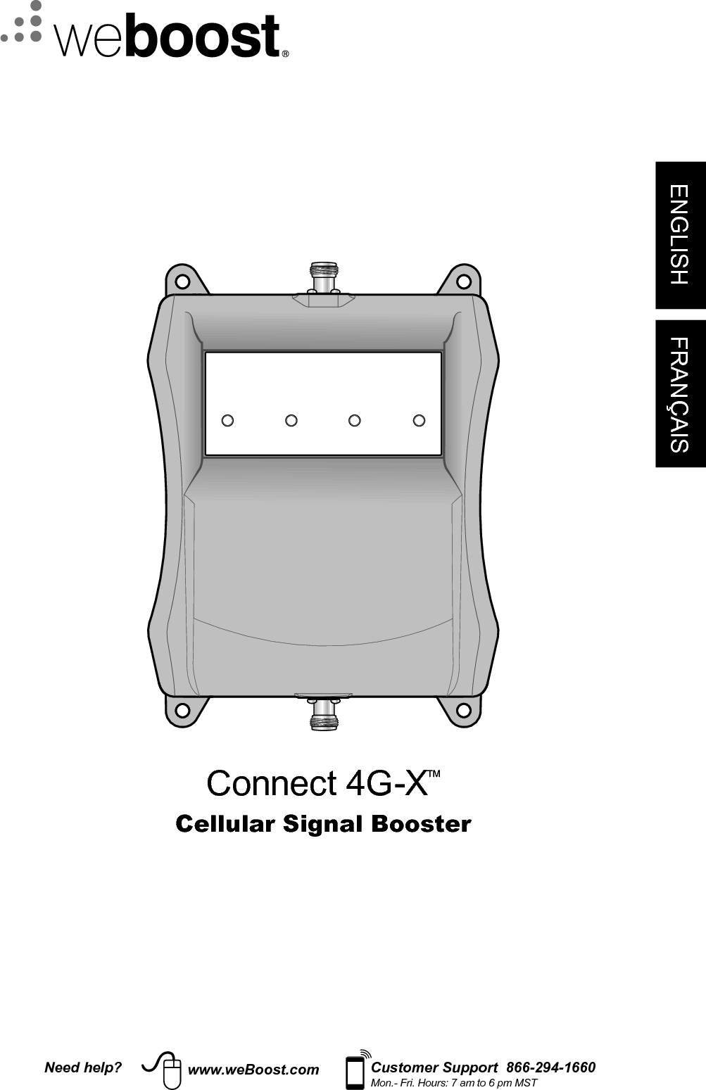weboost connect 4g signal booster manual