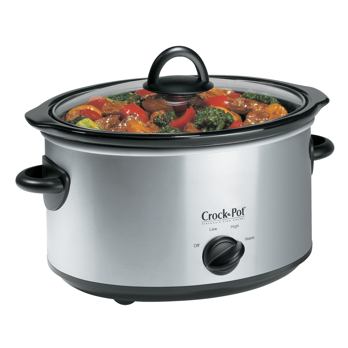 which setting is high on 3 qt manual crock pot