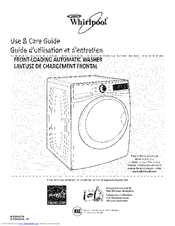 whirlpool hl series front load washer manual