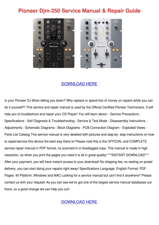 wz16 dx mixer service manual