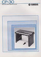 yamaha stage piano cp33 manual